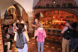 Die Grossküche in der Marienburg